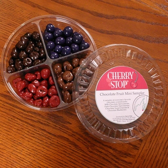 Mini Chocolate Covered Fruit Sampler