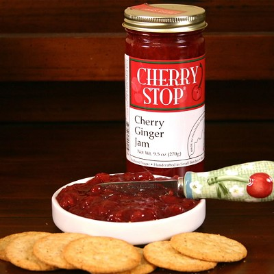 Cherry Ginger Jam