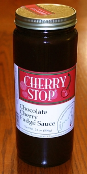 Chocolate Cherry Fudge Sauce