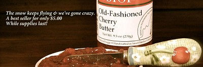 Old-Fashioned Cherry Butter